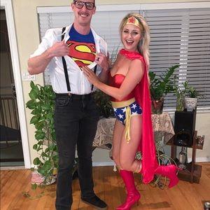 Wonder Woman & Clark Kent Outfit